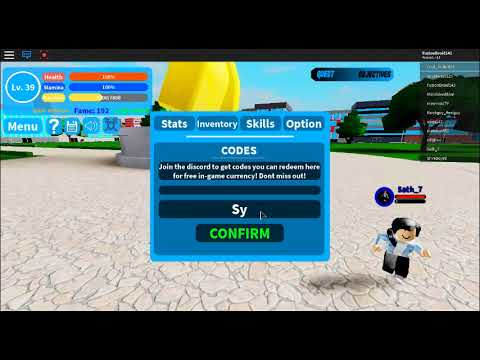 New Codes Boku No Roblox April 2019 Not Expired Youtube