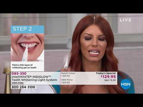 Intelliwhite Indiglow Teeth Whitening Light System Youtube