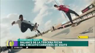 #CbaX | Pedro Arce nos cuenta el balance de la 3er fecha del circuito cordobés de Skate,