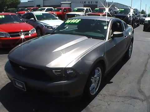 Jim Keim Ford >> 2012 Ford Mustang For Sale Columbus Ohio - YouTube