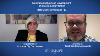 Kissimmee's Business Development and Sustainability Series: Business Insurance Tips