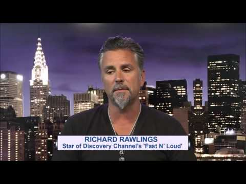 Newsmax Prime | Richard Rawlings discusses how he became the host of a TV program on flipping cars