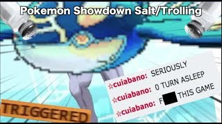 Pokemon Showdown Salt/Trolling COMPILATION #9