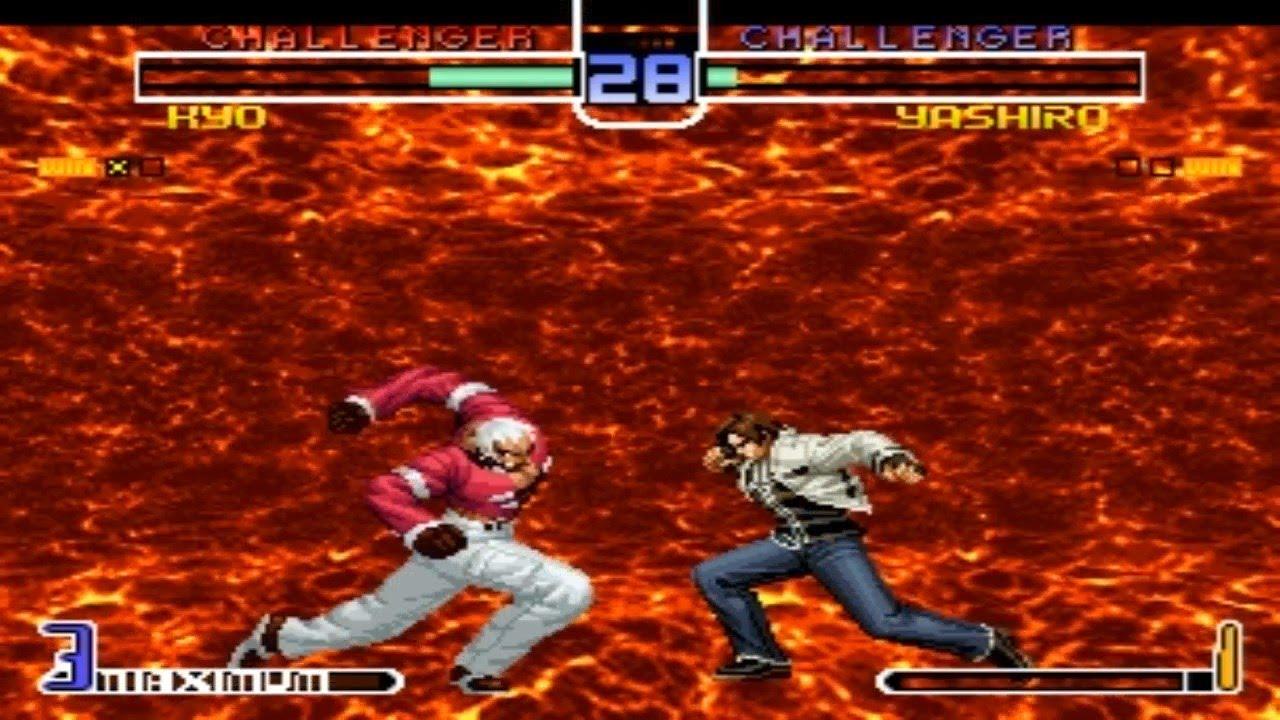 [TAS] Kyo VS Yashiro Orochi (KoF 2002 MP2)