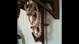 Simplicity Wood Gear Clock