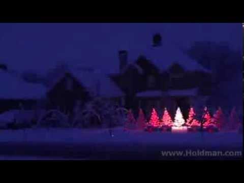 La casa magica di Natale - luci a ritmo di musica