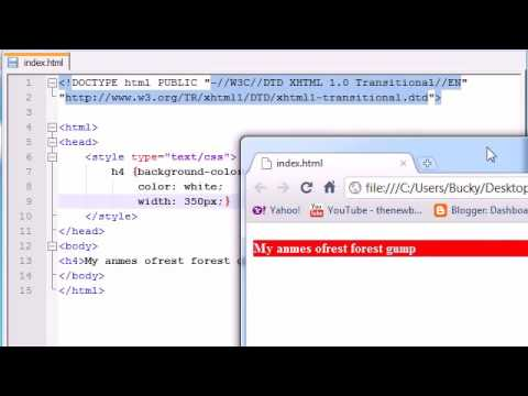 XHTML and CSS Tutorial   24   Width   Height ‏ Free Computer Tuts by Aamir Nadeem in English Teache thumbnail