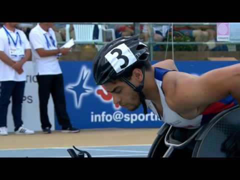 Men's 800 m T53 | final | 2016 IPC Athletics European Championships Grosseto
