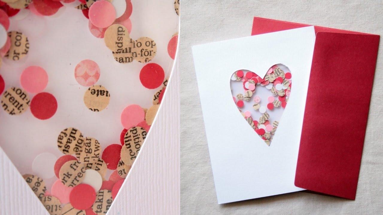 Как сделать открытки на день валентина своими руками