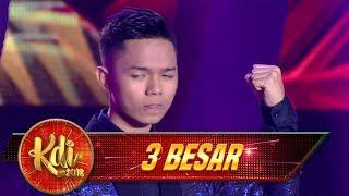 Terbaik! Penampilan Abi ZONA LAGU BARU [TAKDIR CINTA] - Final 3 Besar KDI (17/9)