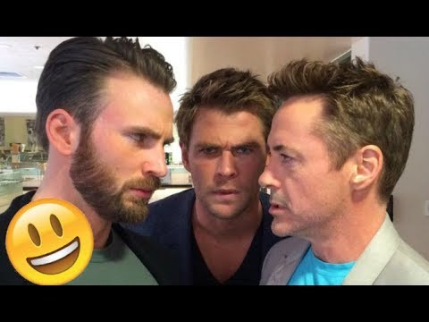 Avengers Infinity War Cast - Funny Moments (Best 2018★)