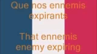 La Marseillaise, French National Anthem (Fr/En),By Claude Joseph Rouget de Lisle