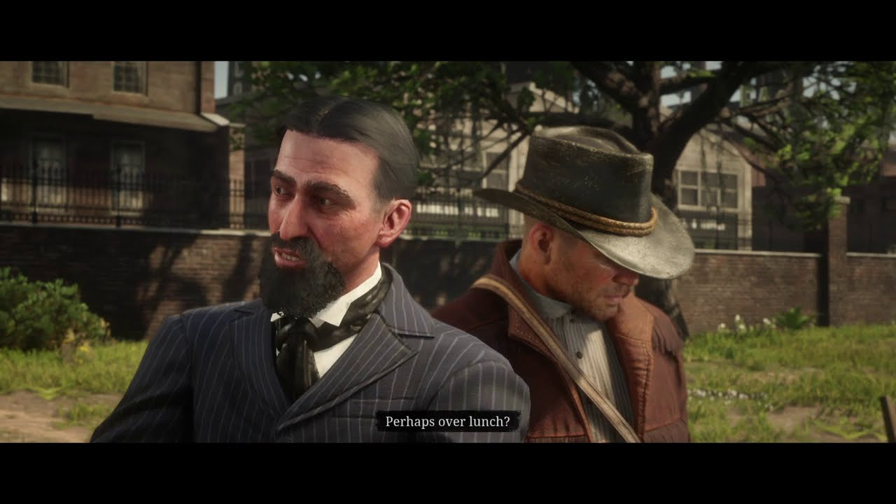 Red Dead Redemption 2 Prof. Marko Dragic. A bouncing baby boy mission