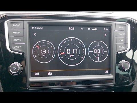 VW Passat B8 2.0BiTDI - Performance Monitor short overview - pregled Performance Monitor prikaza ...