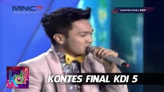 "Yogie "" Dibalik Cadar Biru "" Bukittinggi - Kontes Final KDI 2015 (26/5)"