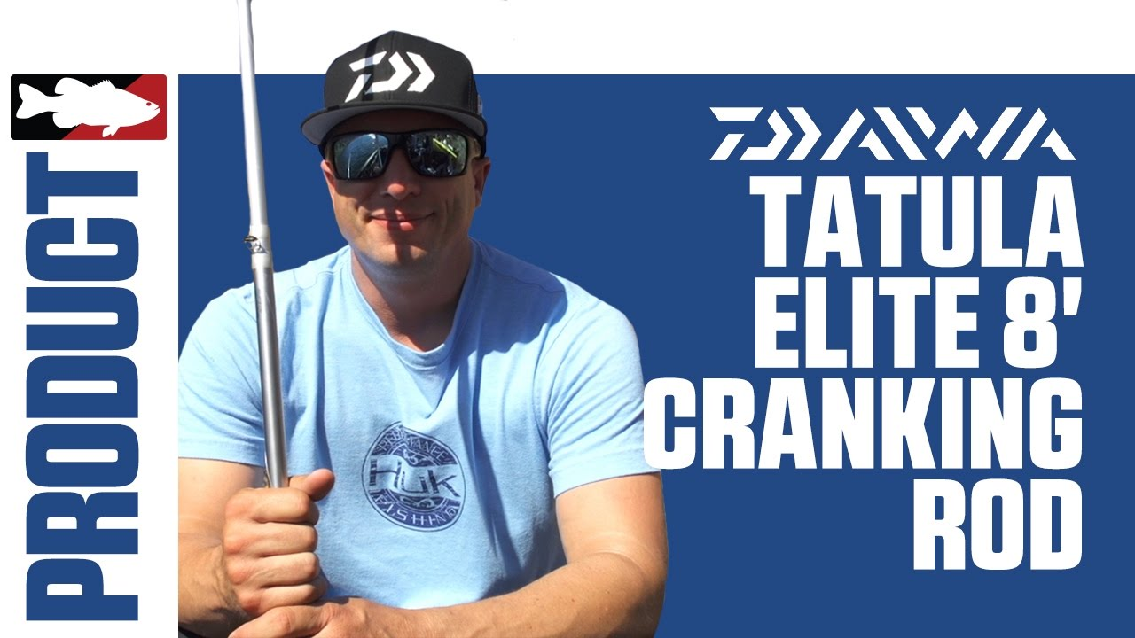 Brent Ehrler Discuss the Daiwa Tatula Glass Crankbait Rod 8' Med Hvy