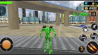 Army Bus Robot Transform Wars: Air Jet Robot Games  - Android Gameplay (Full HDR) screenshot 3