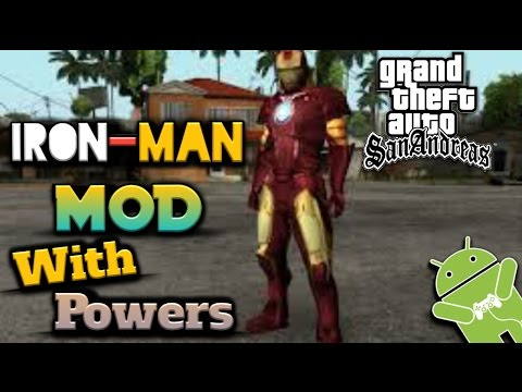 GTA SA Android: IRONMAN Mod (With Powers) - YouTube
