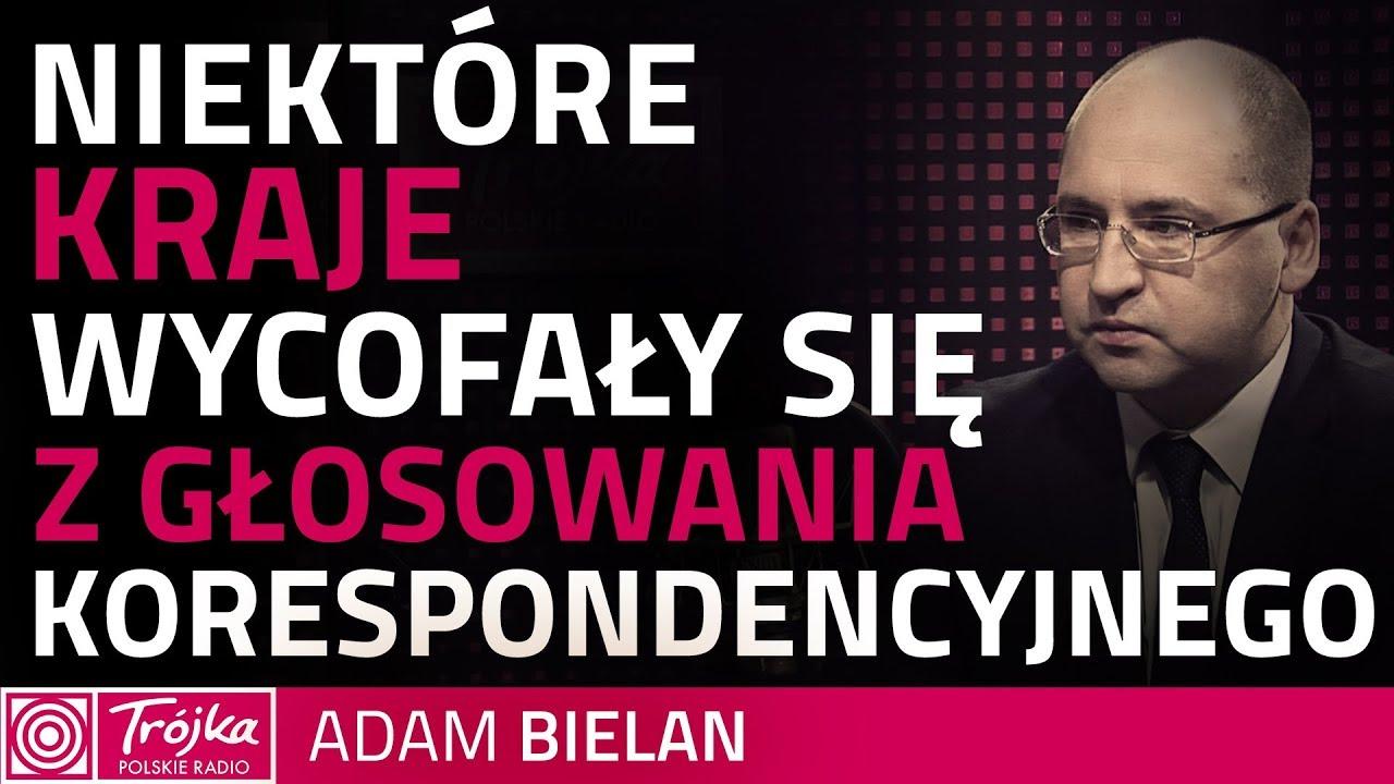 Adam Bielan: głosowanie korespondencyje stwarza możliwość zafałszowania wyborów