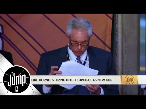 Former Lakers title-winner Mitch Kupchak offered Hornets' GM job | The Jump | ESPN
