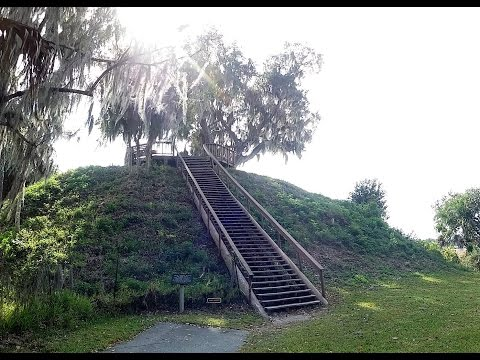 Temple Mound Crystal River Archaelogical State Park Florida