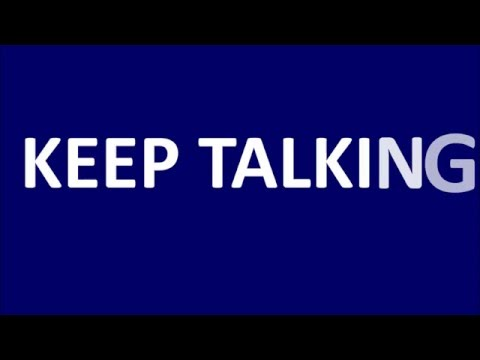 Keep Talking - Pink Floyd (Lyrics Video)
