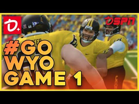 DSPN: NCAA Football 14 Dynasty - Wyoming vs #24 Nebraska!
