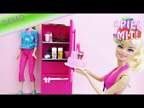Barbie Kühlschrank - inklusive Barbies Orangensaft, Sahne, Torte und ...