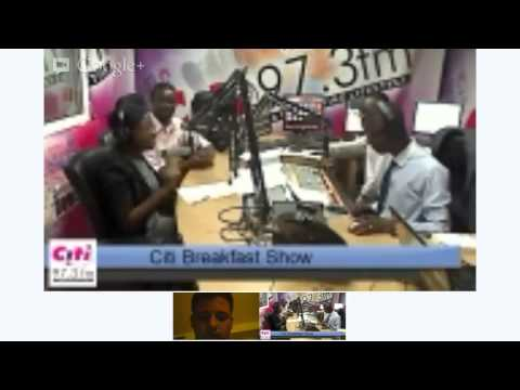 Citi Breakfast Show Nov 6