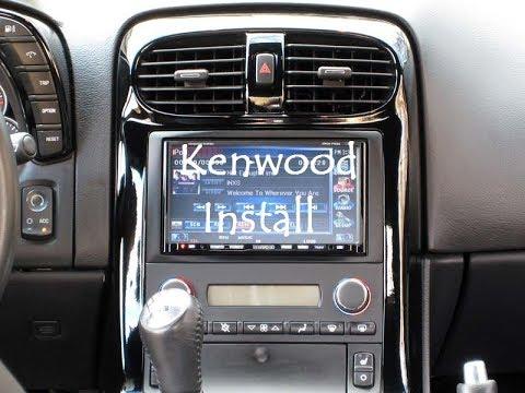 I installed a Kenwood on the C6! EPIC!!! - YouTube