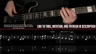 Steely Dan - FM (No Static At All) (Bass Line w/tabs and standard notation)