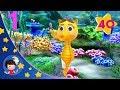 10 Little Sea Horses   Kids songs   Nursery Rhymes   Little Baby Bum   Sleep Baby Songs