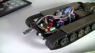 Arduino UNO DIY Project - RC Tokyo Marui Tank to Bluetooth Control with Android App