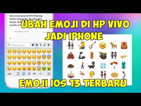Cara Mengubah Emoji HP Vivo Menjadi Emoji IOS 13 Terbaru