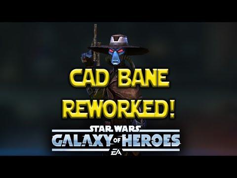 Cad Bane Rework Gameplay - Star Wars: Galaxy Of Heroes - SWGOH