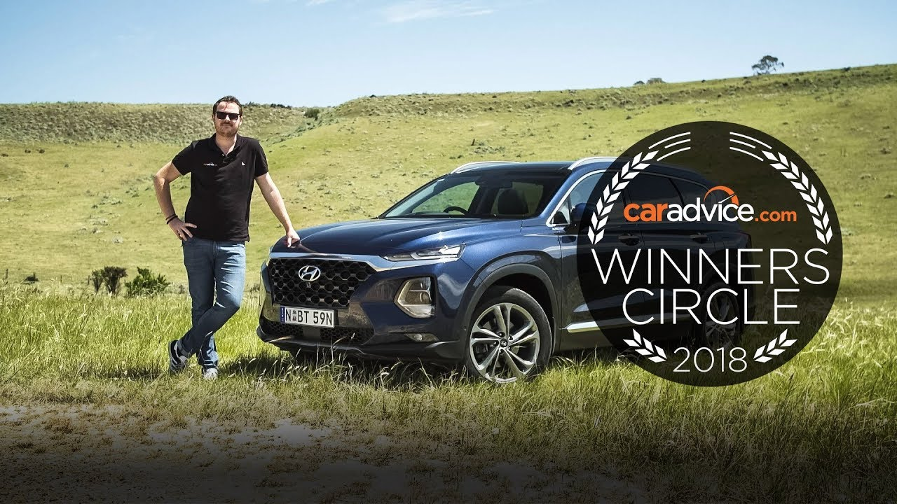 The CarAdvice Winners Circle 2018, Mike Costello: Hyundai Santa Fe Highlander