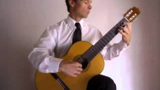 Instructor Edward Burns performs Preludio by Antonio Lauro