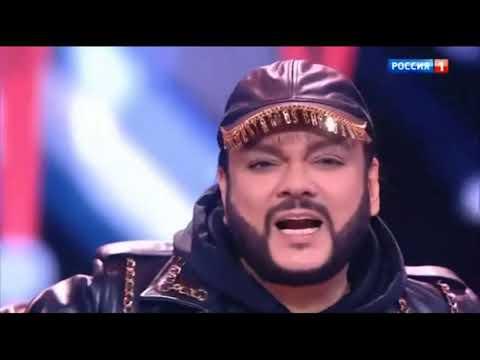 Филип Киркоров и  Егор Крид-цвет настроения черный-Новогодний Голубой Огонек 2020