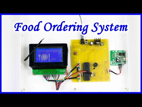How to make Food Ordering System AKA Smart Menu