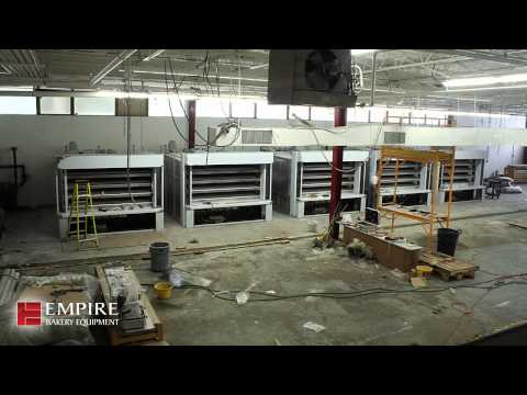 Artisan Bread Stone Hearth Deck Oven Installation | Empire Bakery Equipment