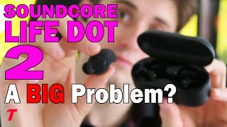 Anker Soundcore Life Dot 2 Headphone Review - The 100 Hour Problem... (Microphone Test)