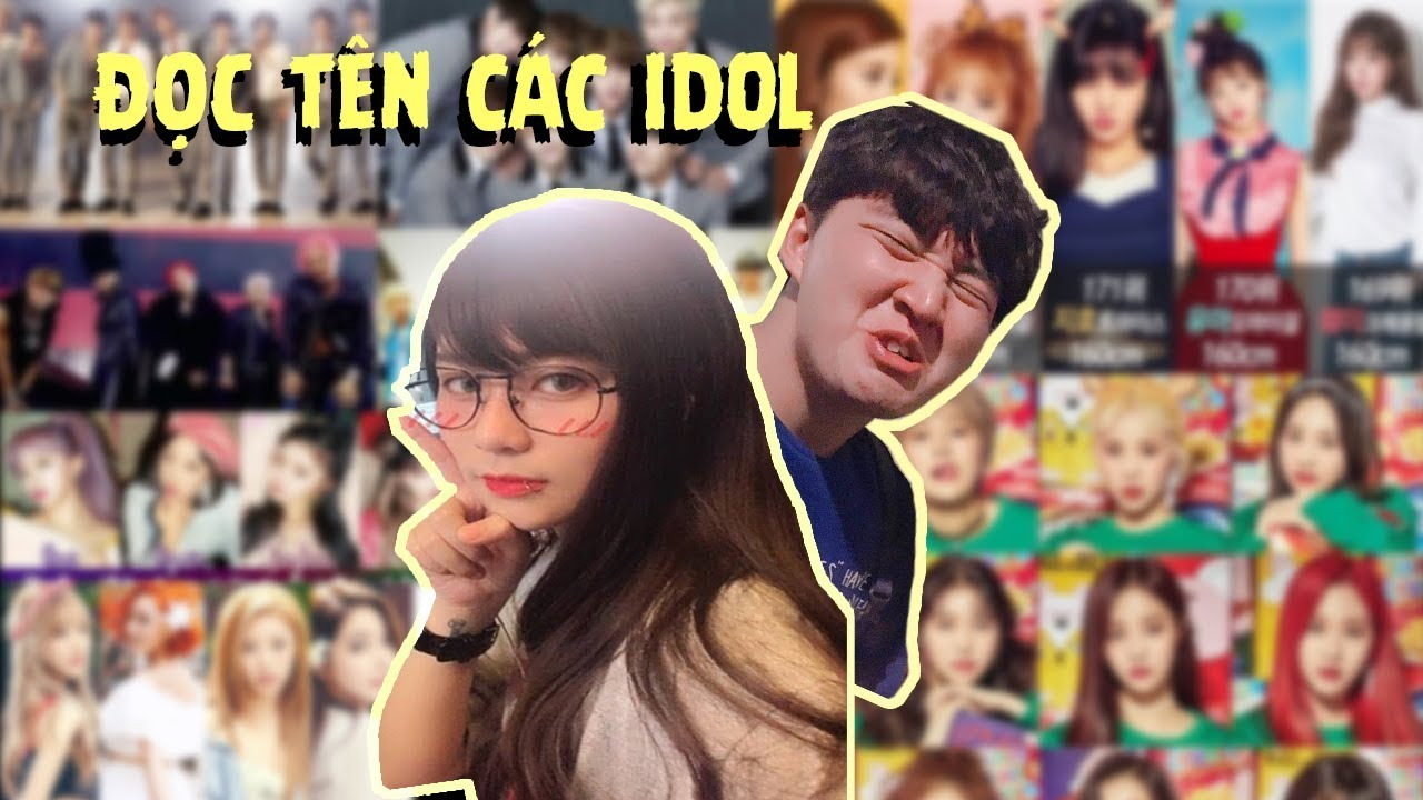 Cách đọc tên các idol Chuẩn Hàn Quốc by Misthy