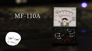 Обзор и тестирование  стрелочного мультиметра(тестера) MF-110A