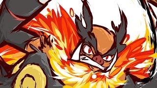 Pokémon XY Wi Fi Battle #87 [NU-RU] VS WotJon -- Stoned Frog vs Flaming Bacon!