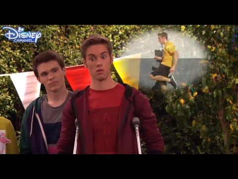 I Didn't Do It - Logan's Hilarious Run - Official Disney Channel UK HD