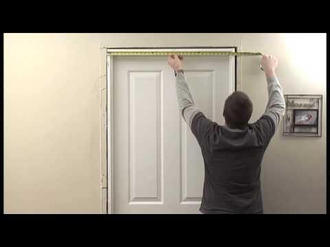 JELDWEN How to Measure an Interior Door HD  YouTube