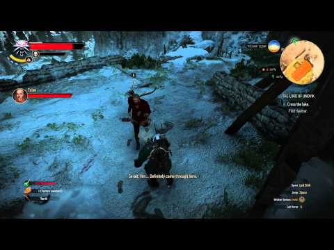 """Witcher 3 - """"Lord of Undvik"""" Finding Hjalmar Fix"""