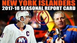 New York Islanders Seasonal Report Card (2017-18)