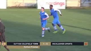 NPL Football Academy | Sutton Coldfield Town v Mickleover Sports Highlights | NPLFA