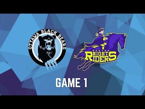 Major League Quidditch 2016: Ottawa Black Bears vs. Boston Night Riders - Game 1